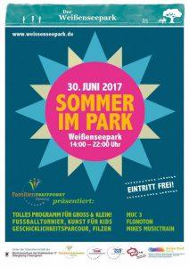 Sommer im Park Weißensepark, München Giesing
