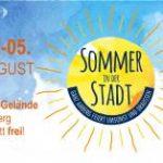 Sommer in der Stadt 2018 in Amberg
